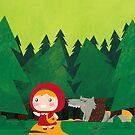 Little Red Riding Hood by parisiansamurai