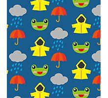 rainy days (Children's pattern) Photographic Print