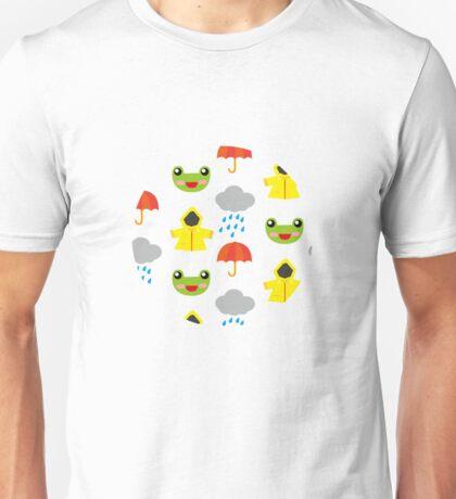 rainy days (Children's pattern) T-Shirt