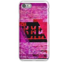 Abstract number 12 iPhone Case/Skin