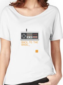 back to the basic_ Women's Relaxed Fit T-Shirt
