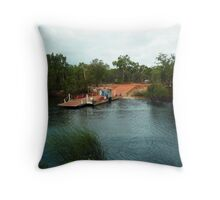 Jardine River Crossing Throw Pillow
