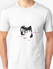 Science Doge So Clothes Wow Unisex T-Shirt