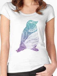 Duotone Penguin Women's Fitted Scoop T-Shirt