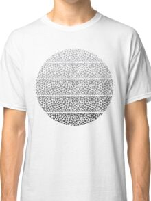 Riverside Monochrome Pebbles Classic T-Shirt