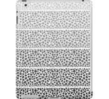 Riverside Monochrome Pebbles iPad Case/Skin