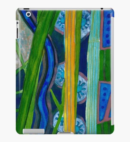 Pattern out of Grass and Stems and More iPad Case/Skin
