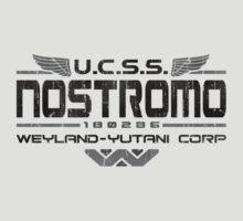 Nostromo Crew Alien T Shirt by 8balltshirts