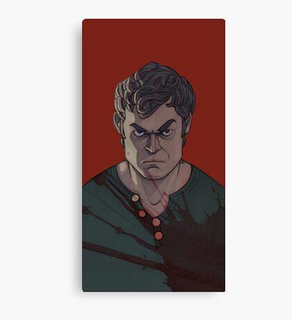 blood theme Canvas Print