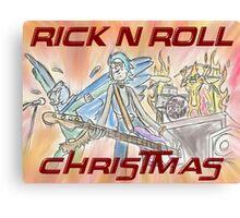Rick 'n' Roll Christmas! Canvas Print