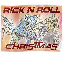 Rick 'n' Roll Christmas! Poster