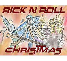 Rick 'n' Roll Christmas! Photographic Print