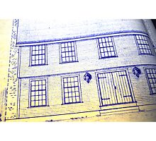 Blueprints Photographic Print