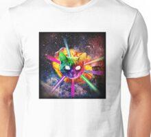 Exploding Rainbow Laser Cat Unisex T-Shirt