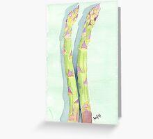 Asparagus lovers Greeting Card