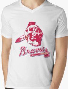 Chief Knockahoma Undead Warrior Mens V-Neck T-Shirt