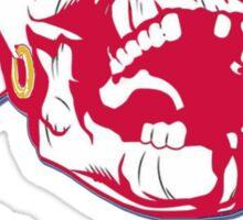 Chief Knockahoma Undead Warrior Sticker