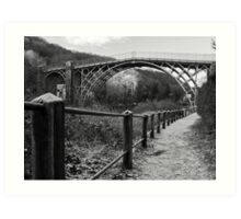 The Iron Bridge Art Print