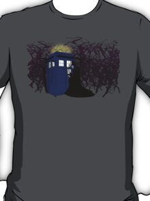 Maleficent and the Tardis T-Shirt