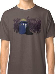 Maleficent and the Tardis Classic T-Shirt