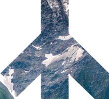 Peace- Mountains Sticker