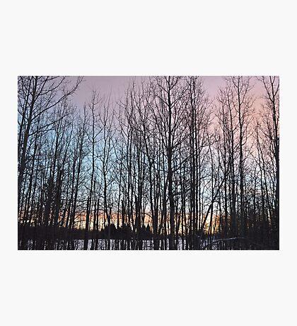 Rainbow Morning Sky Photographic Print