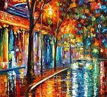 NIGHT CAFE by Leonid  Afremov