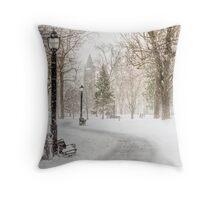 Victoria Park Throw Pillow