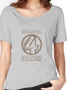 Channel 4 San Diego Women's Relaxed Fit T-Shirt