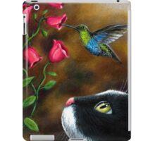 Cat 571 Hummingbird iPad Case/Skin
