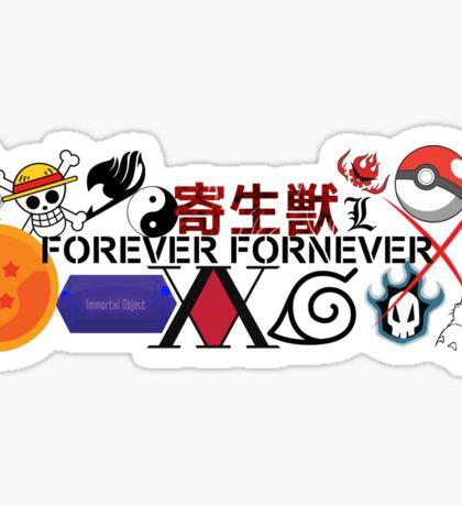 Ultimate Anime Fan Sticker