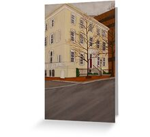 Court End White House Greeting Card