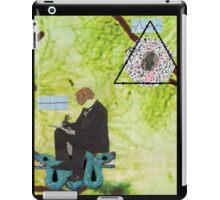 Watch The Thinker iPad Case/Skin