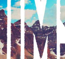 AHIMSA - Mountains Sticker