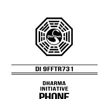 Dharma Phone - LOST by robotplunger