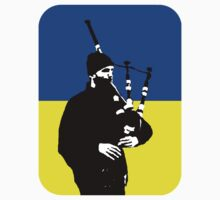 The Kiev Bagpiper by Thomas Micallef
