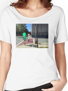 Walk in the city Women's Relaxed Fit T-Shirt