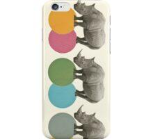 Rambling Rhinos iPhone Case/Skin
