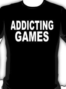 Addicting Games White T-Shirt