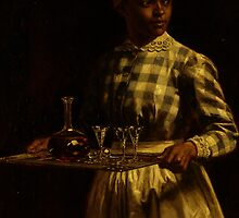 Serving Maid by Bridgeman Art Library