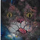 Lil bub space Kitty Poster Print by Jp87cents