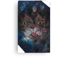 Lil bub space Kitty Poster Print Canvas Print