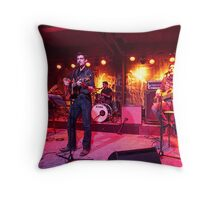 FOR @ Vintage Industrial Bar Throw Pillow