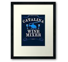 The Catalina Wine Mixer Framed Print