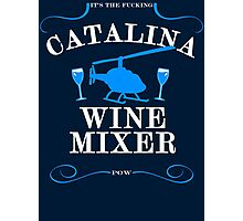 The Catalina Wine Mixer Photographic Print