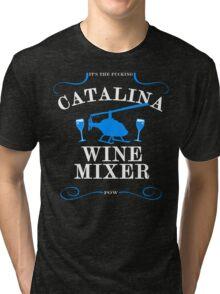 The Catalina Wine Mixer Tri-blend T-Shirt