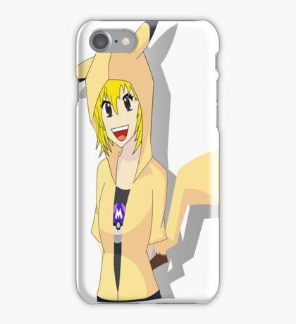 pika girl iPhone Case/Skin