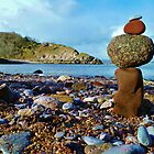 Pebbles on the Cove by Joanne Pickering