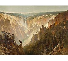 The Grand Canyon of the Yellowstone Photographic Print