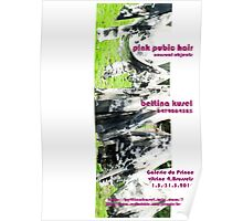 pink pubic hair Poster
